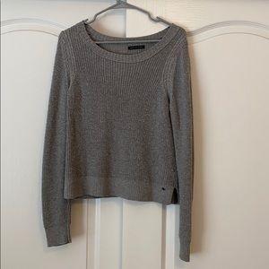 grey American Eagle sweater size L